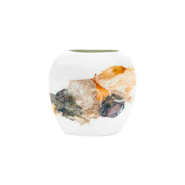 Oval Pillow Vase Image 1