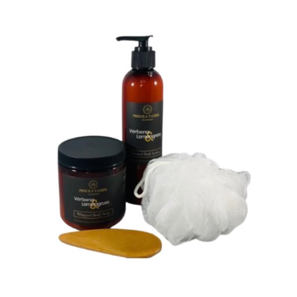 Verbena Lemongrass Bath & Body Set Image 1