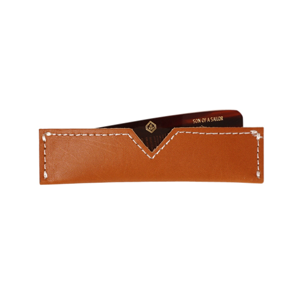 Comb & Leather Case Image 1