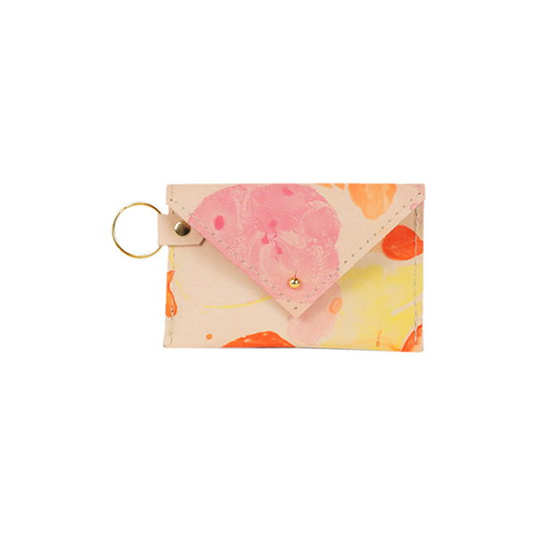 Marbled Credit Card Holder Image 1