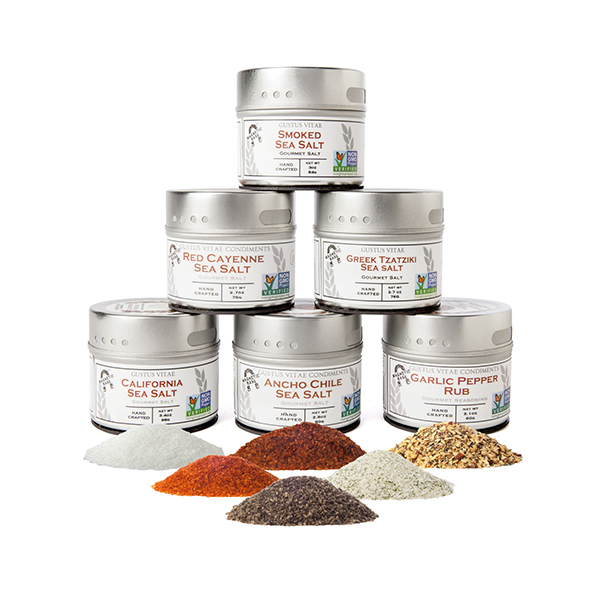 Finishing Sea Salts & Rubs Collection Image 1