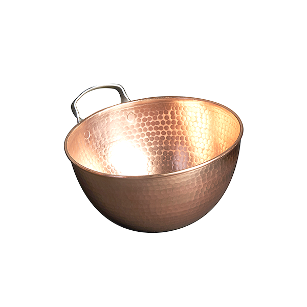 """10"""" Copper Mixing Bowl Image 1"""