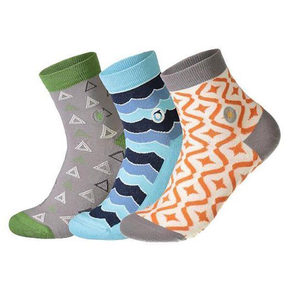 Women's Planet Earth Sock Set Image 1