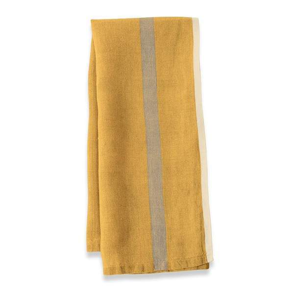 Laundered Linen Tea Towels Image 1
