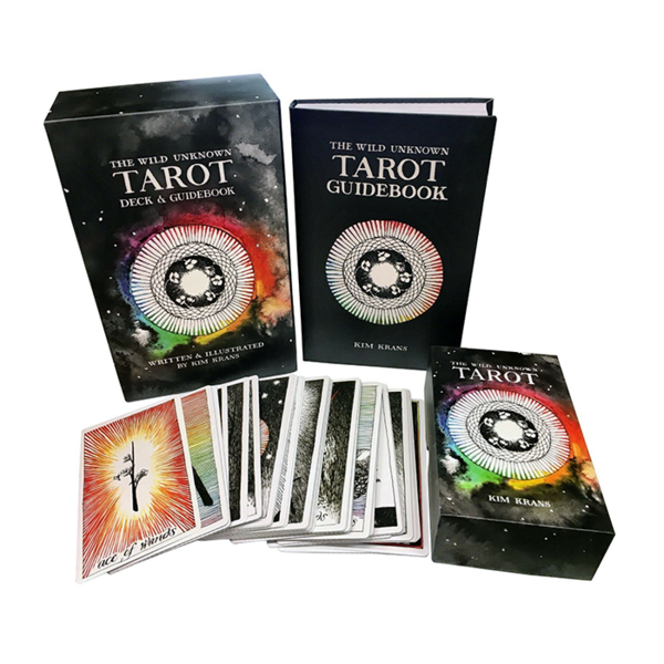 The Wild Unknown Tarot Deck & Guidebook Image 1