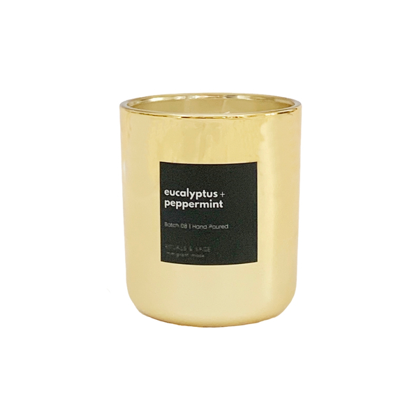essential oil luxury candle