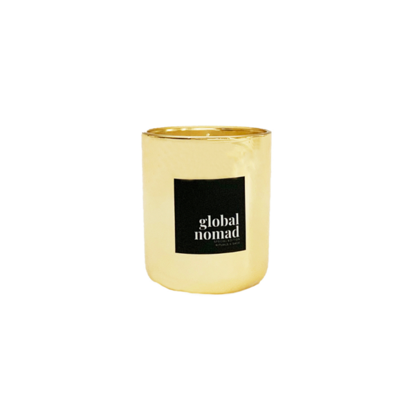 Amber and Driftwood - Hand Poured Soy Candle Image 1