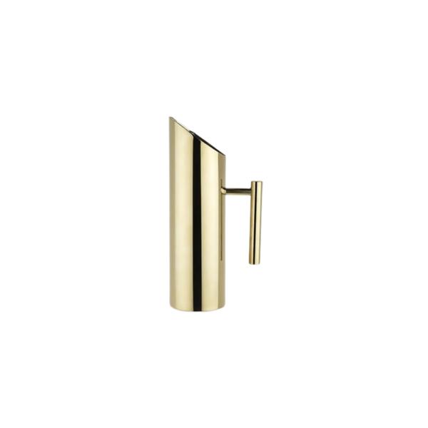 Modern Gold Pitcher Image 1