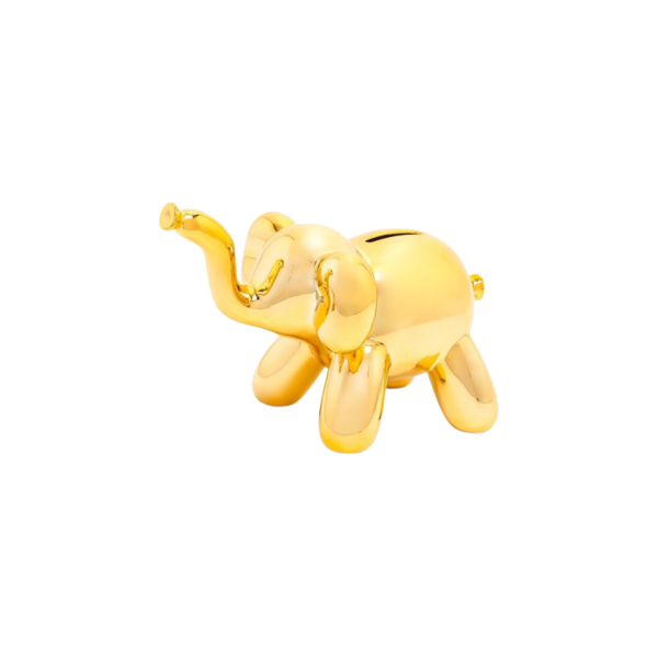 Baby Elephant Balloon Piggy Bank Image 1
